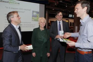 In 5 stappen CO2-neutraal ondernemen boek presentatie