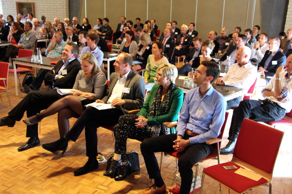 Deelnemers Klimaatplein bijeenkomst