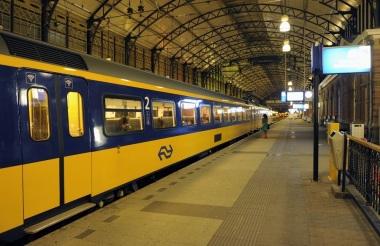 reizen met duurzame trein minder CO2
