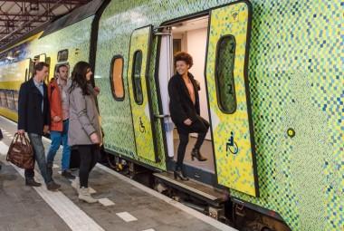 Groene toptrein klimaattop Parijs