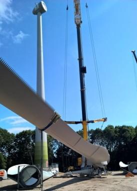 installatie windmolen duurzame energie